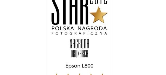 STAR 2012 – nagroda dla drukarki Epson L800