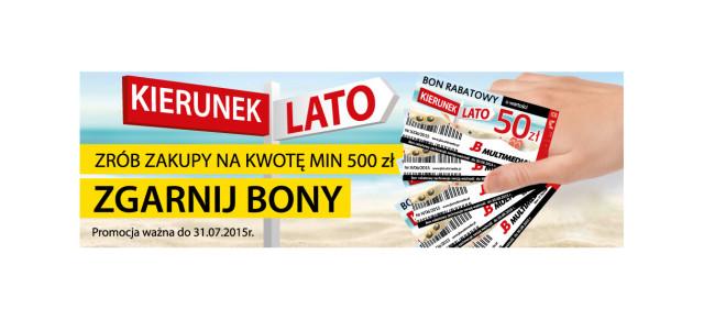 """""""Kierunek Lato – odbierz bon 50 zł"""""""