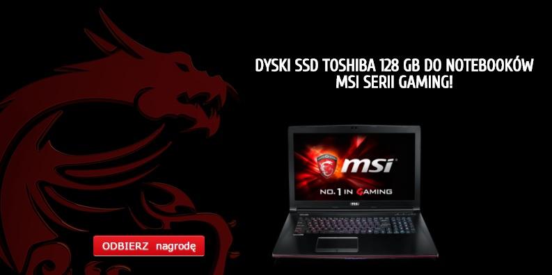 Dyski SSD Toshiba 128 GB do notebooków