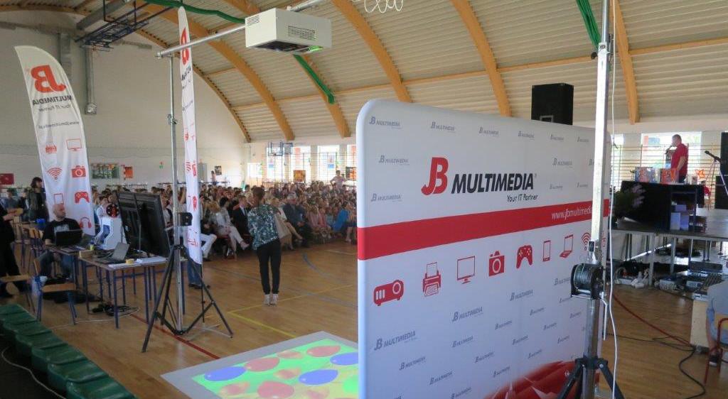 Stoisko JB na Festiwalu KMO w Leśnej Podlaskiej