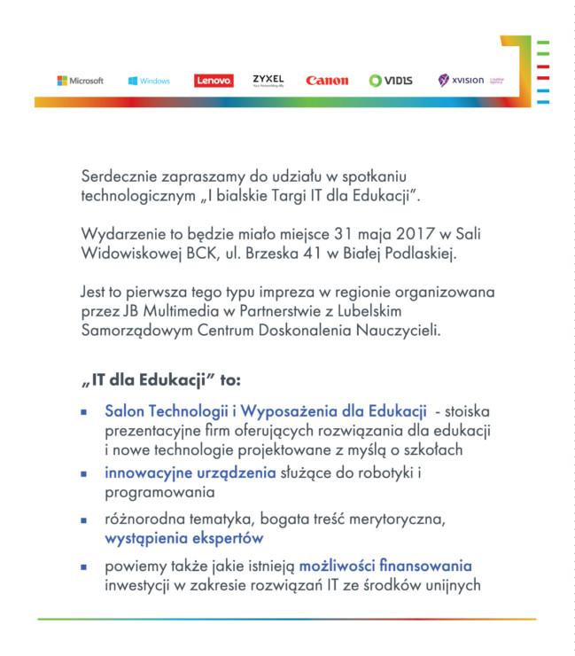 Zaproszenie_na_I_bialskie_targi_dla_edukacji_tekst_wprowadzenie